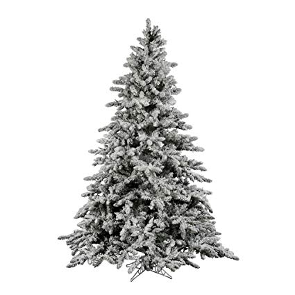 Vickerman Flocked Christmas Tree