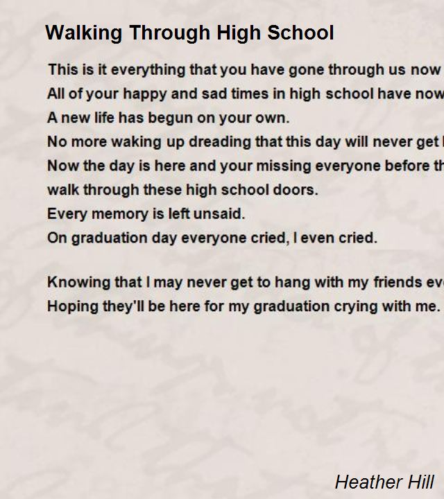 Walking Through High School