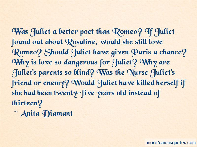 Was Juliet A Better Poet