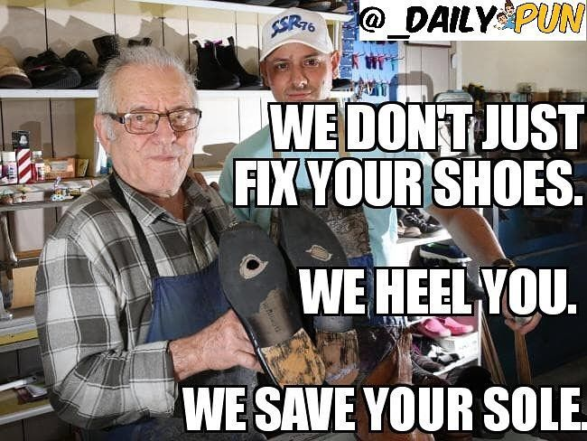 We Don't Just Fix Your Shoes