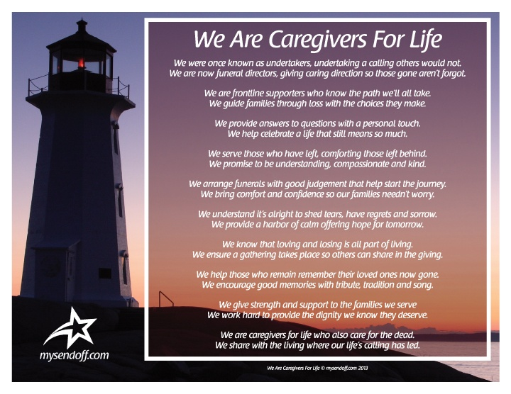 We are Caregivers for Life