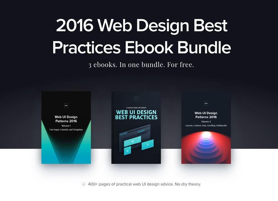 Web Design Best Practices Ebook Bundle