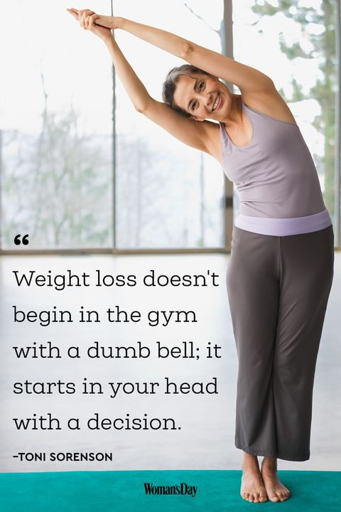Weight Loss Doesn't Begin