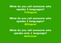 What Do You Call Someone Who Speaks