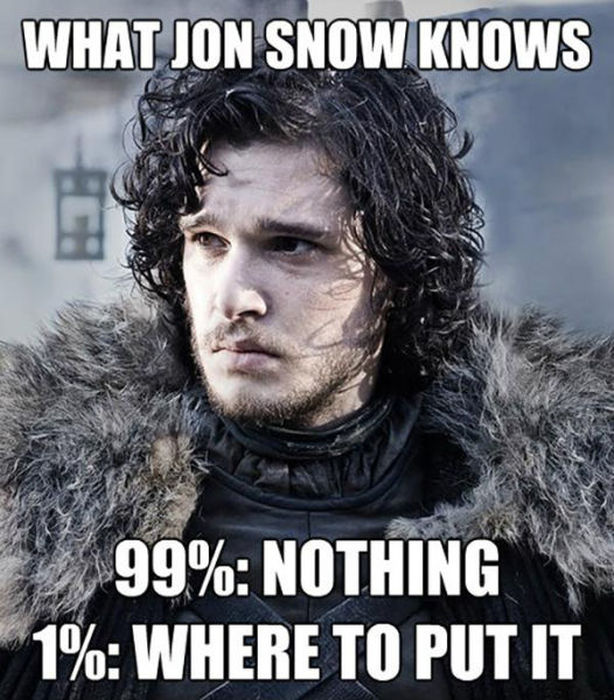 What Jon Snow Knows