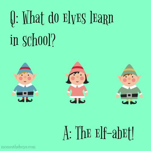 What do elves learn