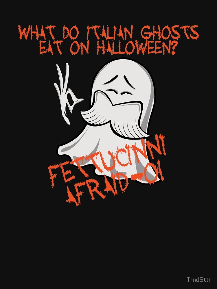 What do italian ghosts eat on halloween