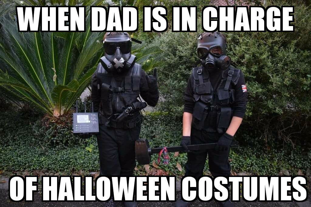 When Dad Is In Charge