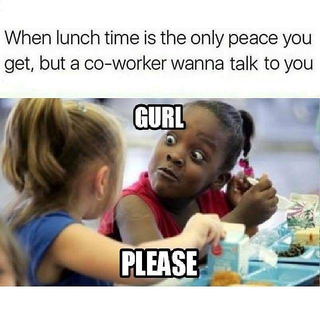When Lunch Time