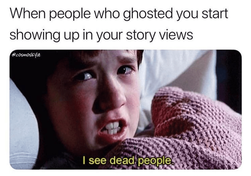 When People Who Ghosted