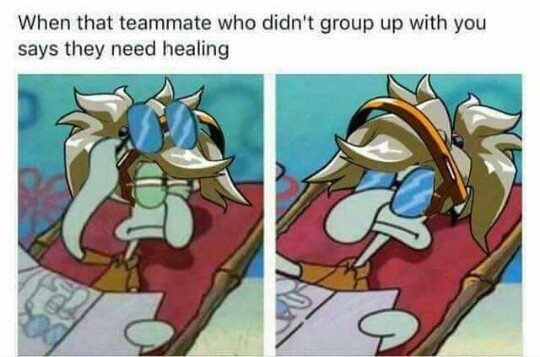 When That Teammate Who Didn't Group Up With You