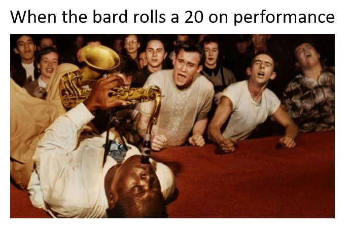 When The Bard Rolls