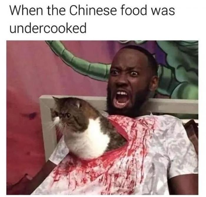 When The Chinese Food