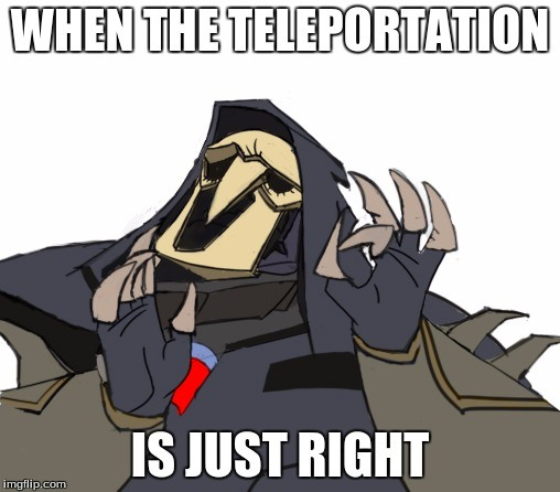 When The Teleportation Is Just Right