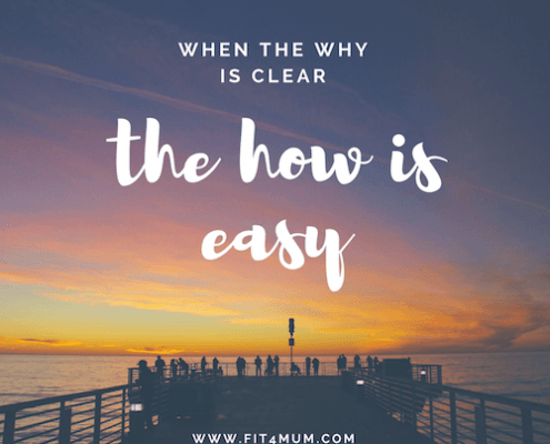 When The Why Is Clear