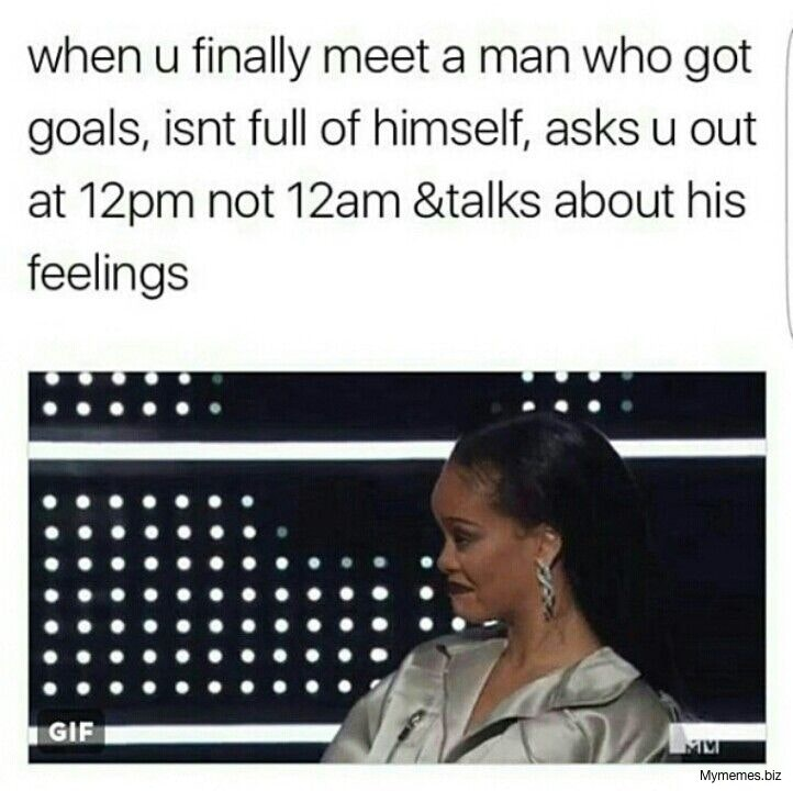 When You Finally Meet A Man