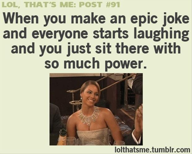 When You Make An Epic Joke