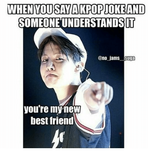When You Say A KPop Joke