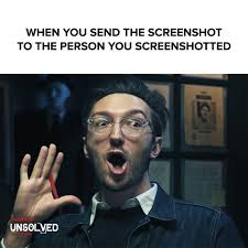 When You Send The Screenshot