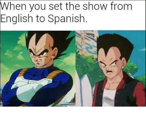 When You Set The Show