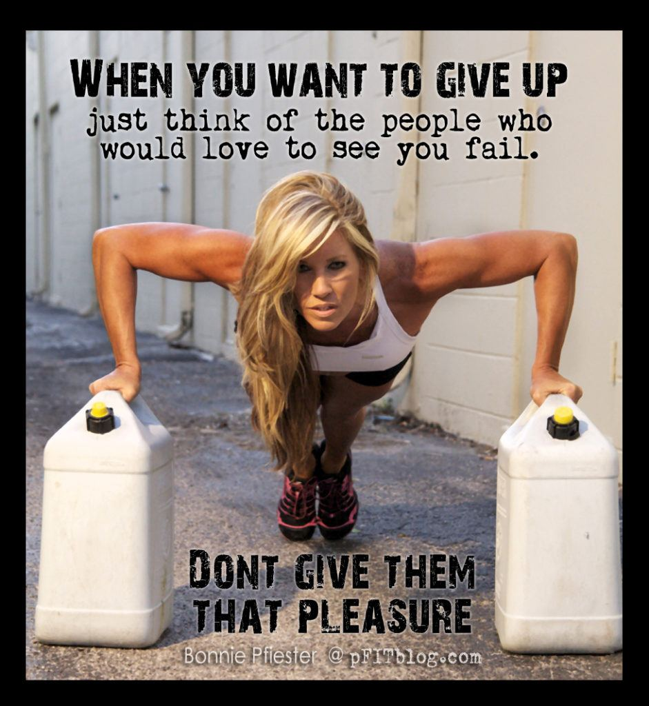 When You Want To Give Up