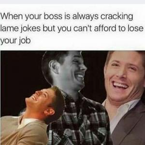 When Your Boss Is Always Cracking