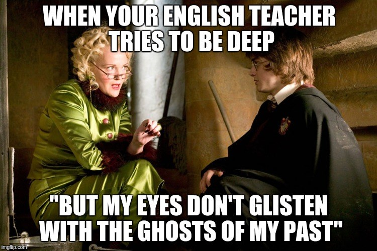 When Your English Teacher