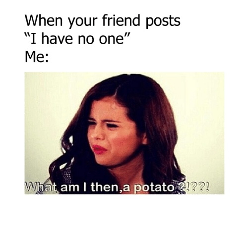 When Your Friend Posts