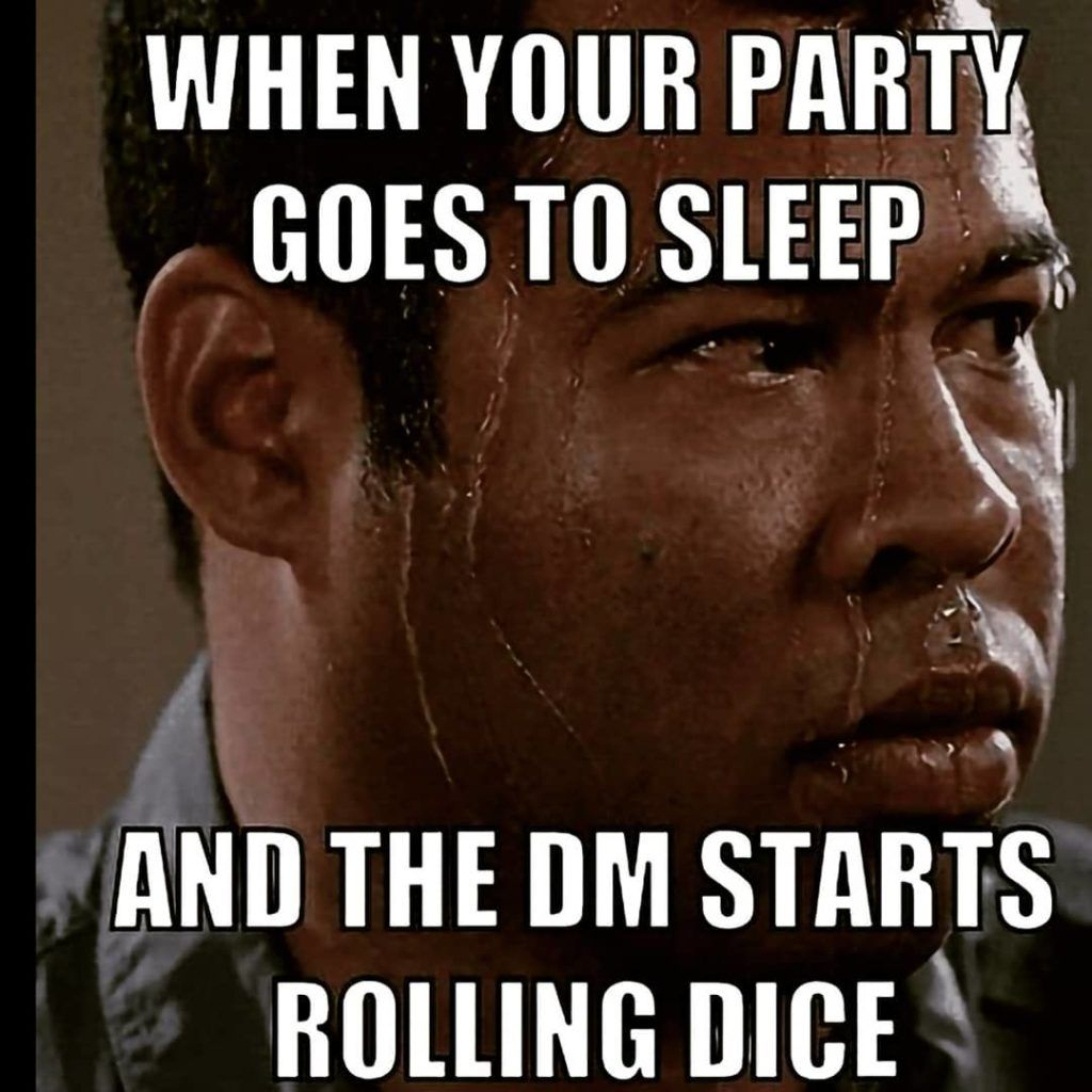When Your Party Goes To Sleep