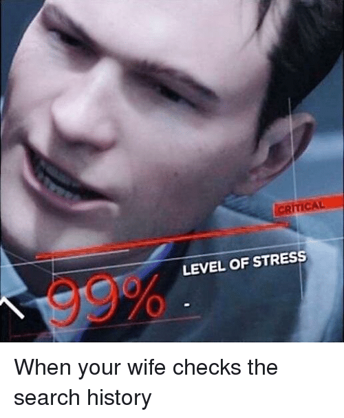 When Your Wife Checks