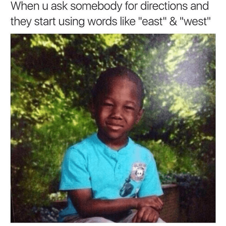 When you ask somebody
