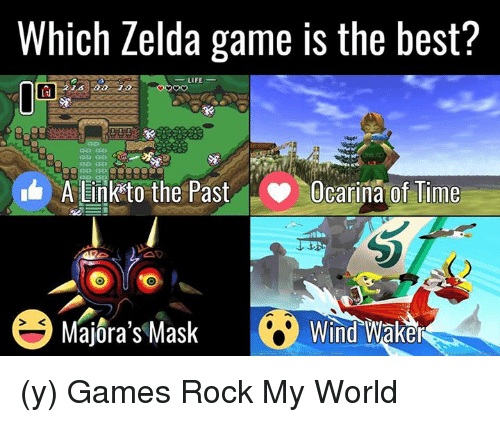 Which Zelda Game Is The Best