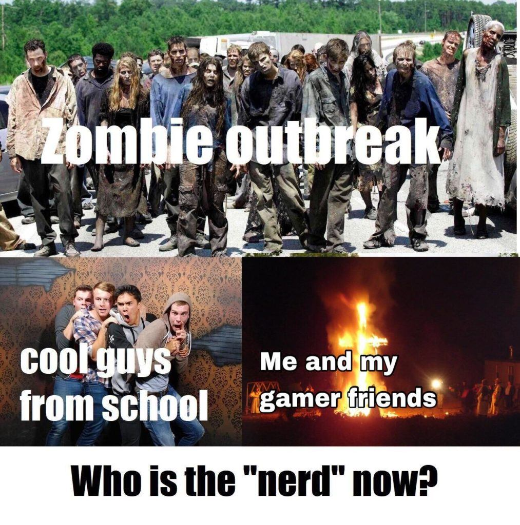 Who Is The Nerd Now