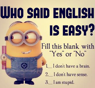 Who Said English