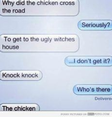 Why Did The Chicken Cross