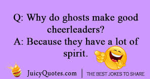 Why do ghosts make good cheerleaders