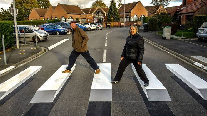 Would These Floating 3D Zebra Crossings