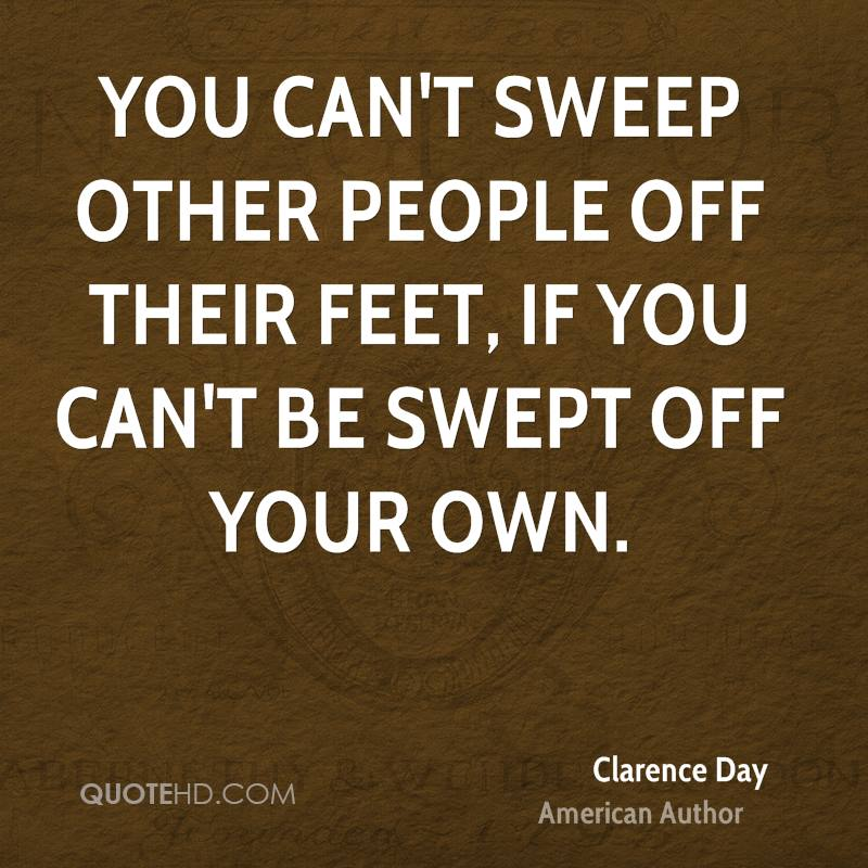 You Can't Sweep Other
