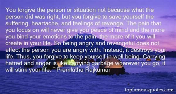 You Forgive The Person