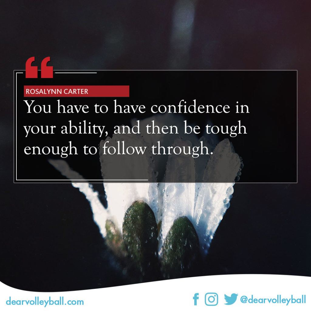You Have To Have Confidence