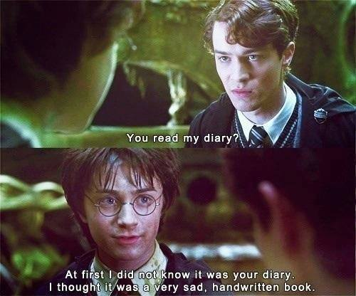 You Read My Diary