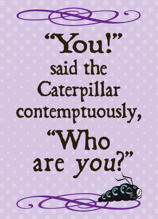 You Said The Caterpillar