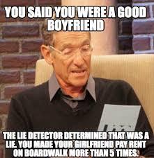 You Said You Were A Good Boyfriend