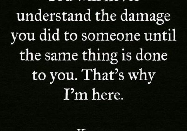 You Will Never Understand