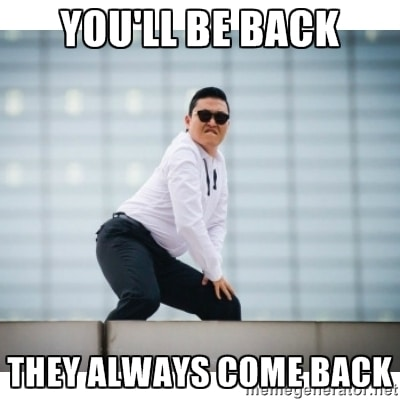 You'll Be Back