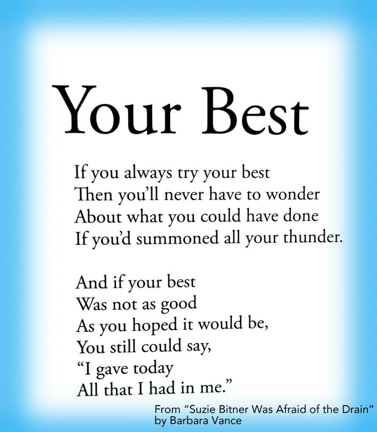 Your Best