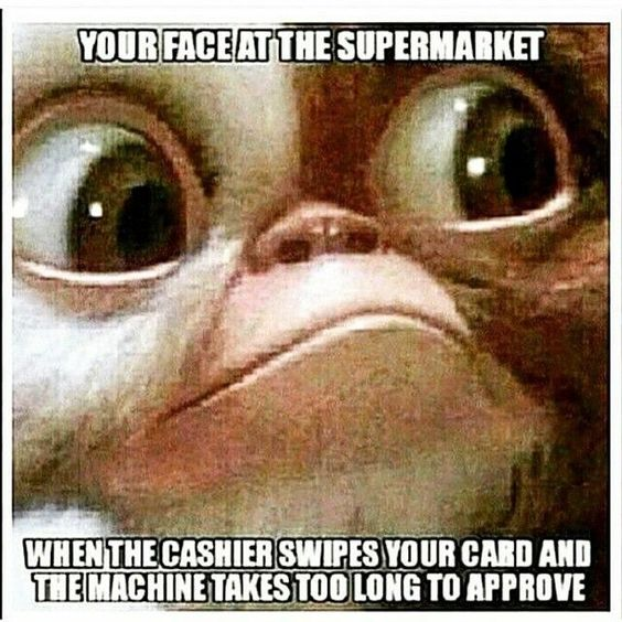 Your Face At The Supermarket