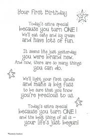 Your First Birthday