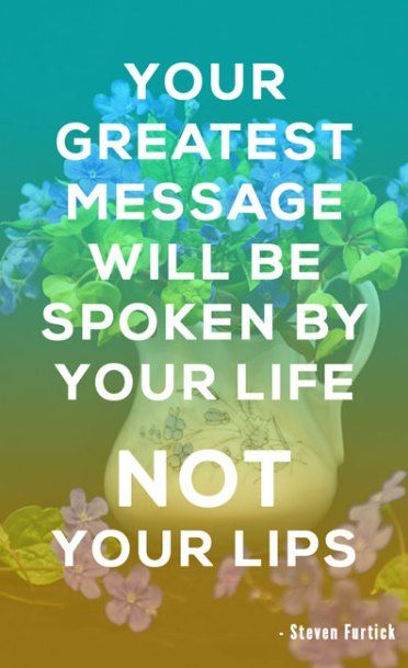 Your Greatest Message