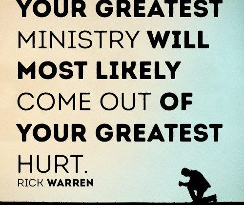 Your Greatest Ministry